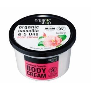 Organic Shop Tělový krém Japonská kamélie 250ml