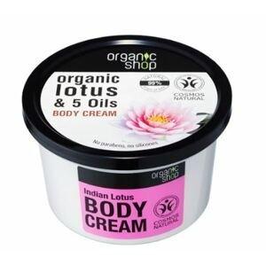 Organic Shop Tělový krém Indický lotos 250ml