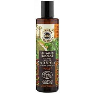 Planeta Organica Šampon pro hustotu a objem vlasů Baobab 280ml