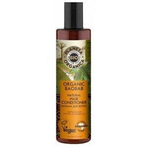 Planeta Organica Kondicionér pro husté a hladké vlasy Baobab 280ml