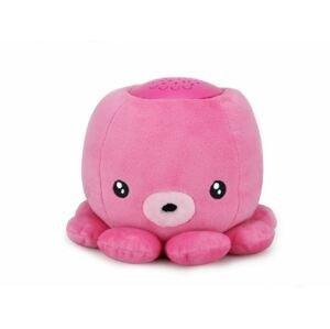 Baby Monsters  NIGHT PARTNERS lampička chobotnice růžová