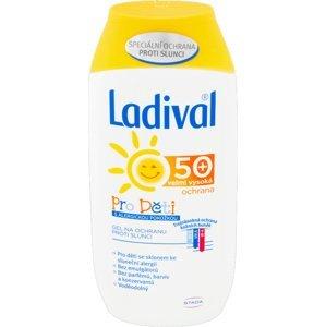LADIVAL Gel pro děti se sklonem ke sluneční alergii SPF50+ 200ml