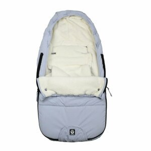 Dooky  Footmuff vel. S FROSTED Blue Mountain