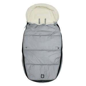 Dooky  Footmuff vel. L FROSTED Silver Sky