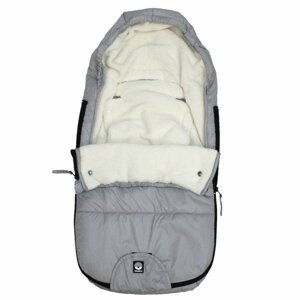 Dooky  Footmuff vel. S FROSTED Silver Sky