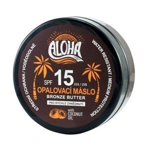 Vivaco Aloha  ALOHA Tělové opalovací máslo SPF15 coconut oil 200ml