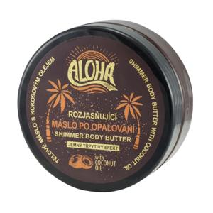 Vivaco Aloha Rozjasňující máslo po opalování shimmer body butter 200ml