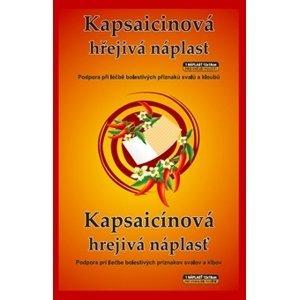 Kapsaicinová náplast  Kapsaicinová hřejivá náplast 12x18cm 1ks