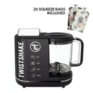 Twistshake 6in1 Baby Food Processor Černá