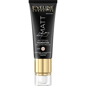 Eveline Cosmetics  Eveline Matt My Day - matující make-up - 01 Ivory 40ml