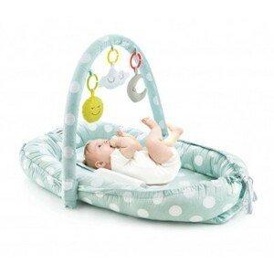 BabyJem hnízdečko Between Parents Baby Bed Green