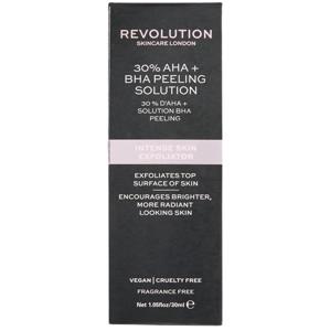 Revolution Skincare Intense Skin Exfoliator - 30% AHA+BHA Peeling Solution peeling 30ml