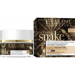 Eveline Cosmetics  Eveline EXCLUSIVE SNAKE – luxusní denní a noční krém 50+ 50ml