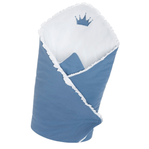 Belisima Baby  Belisima Zavinovačka s výztuží Royal Baby modrá