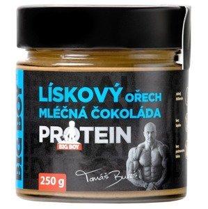 BIG BOY Lískoořechový krém s mléčnou čokoládou a proteinem 250g