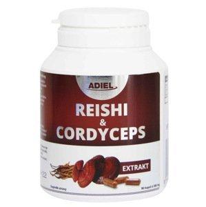 Adiel Reishi&Cordyceps 90 kapslí