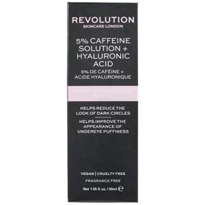 Revolution Skincare Targeted Under Eye Serum - 5% Caffeine Solution + Hyaluronic Acid Serum oční sérum 30ml