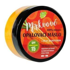 Vivaco Bio  BIO VIVACO Přírodní opalovací mrkvové máslo SPF15 150ml