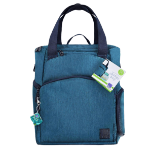 Bambino Mio Batoh přebalovací taška modrá 1ks