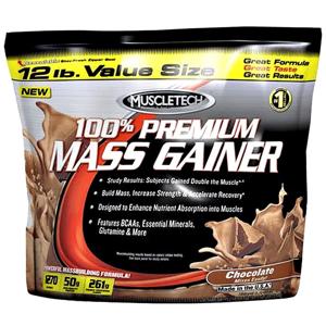 Muscletech 100% Premium Mass Gainer vanilla 5440g