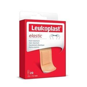 Leukoplast Elastic 19x72+25x72mm 20ks