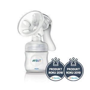 Philips Avent  AVENT Odsávačka mateřského mléka Natural + Lahev Natural 125ml