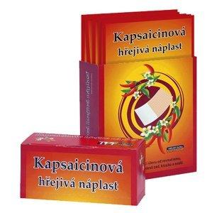 Kapsaicinová náplast  Kapsaicinová hřejivá náplast 12x18cm 50ks prod.box