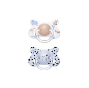 Suavinex Šidítko Fusion 18m+, anatomické, latex, Modrý pes 2ks
