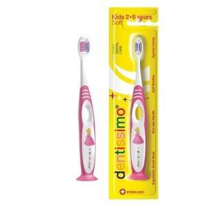 Dentissimo® švýcarský zubní kartáček dětský pro nejmenší měkký 2–6 let 1ks