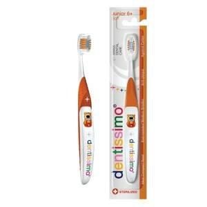 Dentissimo® švýcarský zubní kartáček pro juniory 6+ let, měkký 1 ks