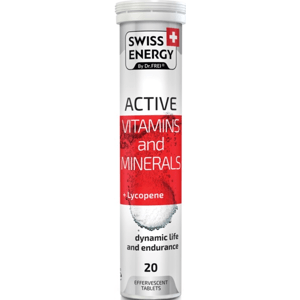 Swiss Energy Active 20 šumivých tablet