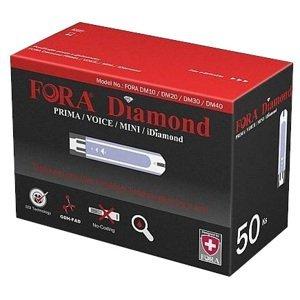 Fora Diamond  Testovací proužky ke glukometrům Diamond 50ks