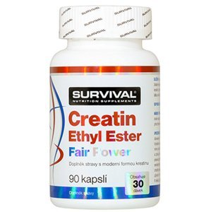Survival Nutrition Creatin Ethyl Ester Fair Power 90 kapslí
