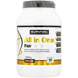 Survival Nutrition All in One Fair Power čokoláda 2500g