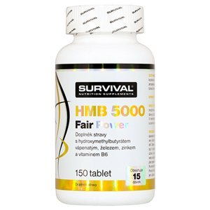 Survival Nutrition  HMB 5000 Fair Power 150 tablet