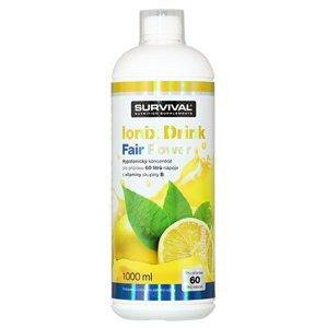 Survival Nutrition Ionix Drink Fair Power citron 1000ml