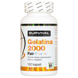 Survival Nutrition Gelatina 2000 Fair Power 150 kapslí