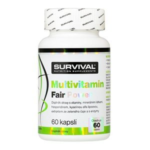 Survival Nutrition Multivitamin Fair Power 60 kapslí