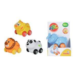 Simba Veselé zvířátko na kolečkách, 4 druhy, 1ks