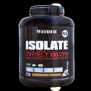 Weider ISOLATE WHEY 100 CFM 100%, syrovátkový isolát, 2kg, Čokoládový fondán