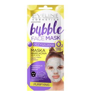 Eveline Cosmetics  Eveline BUBBLE MASK Čisticí pleťová textilní maska