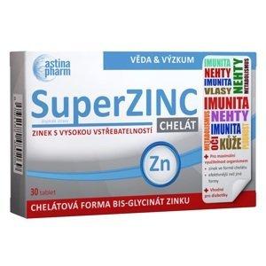 Astina SuperZINC CHELÁT 30 tablet