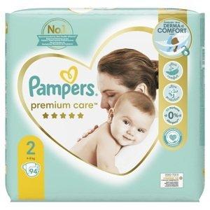 Pampers Premium Care Velikost 2 Plenky 94ks
