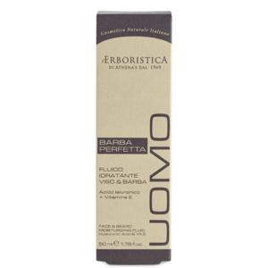 Erboristica UOMO Pleťové hydratační mléko na pleť a vousy 50ml
