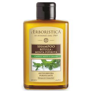 Erboristica Šampon na mastné vlasy a lupy březový 300ml