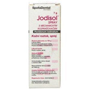 Jodisol spray s mechanickým rozprašovačem 7g