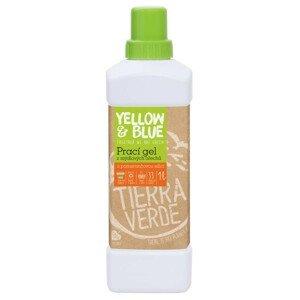 Yellow&Blue  Yellow and Blue Prací gel s pomerančem z bio mýdlových ořechů 1l