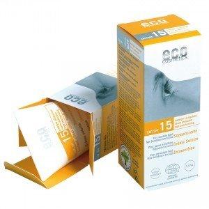 Eco Cosmetics Opalovací krém SPF 15 BIO 75ml