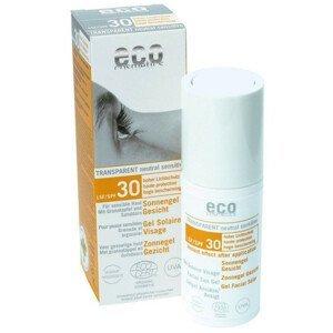 Eco Cosmetics Opalovací transparentní gel na obličej SPF 30 30ml