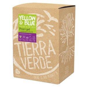 Yellow&Blue  Yellow and Blue Prací gel s levandulí z bio mýdlových ořechů 5l